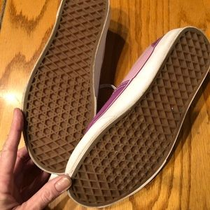 Vans Shoes - EUC!!! Cutest VANS Lilac and Pink Ombré Sneakers!!